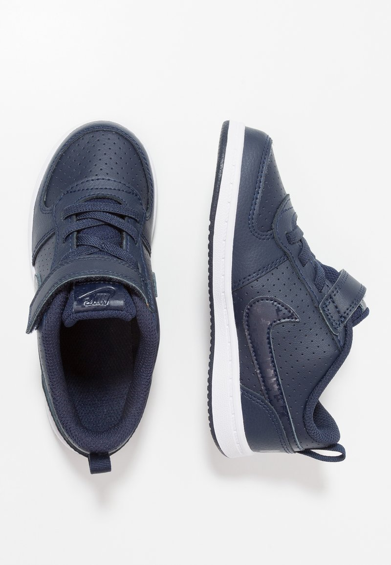 Nike Sportswear - COURT BOROUGH  - Baby shoes - obsidian/white