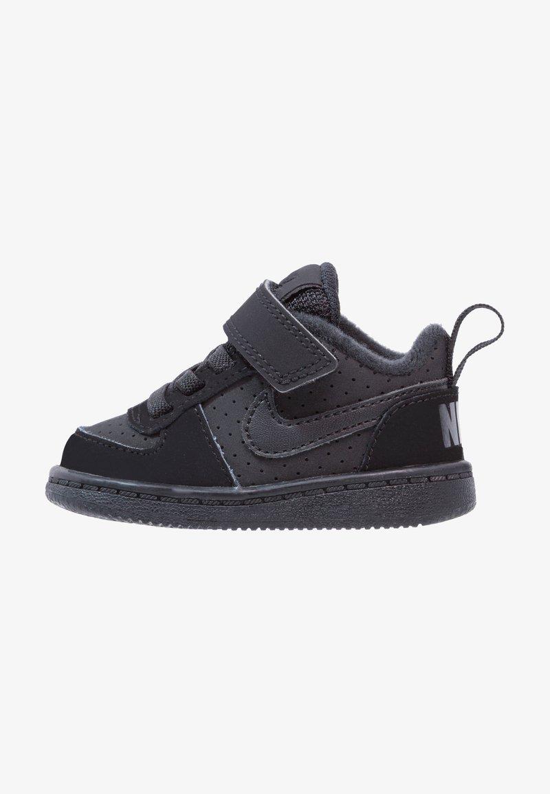 Nike Sportswear - COURT BOROUGH  - Obuwie do nauki chodzenia - black