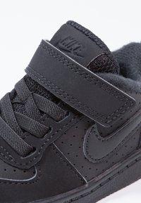 Nike Sportswear - COURT BOROUGH  - Obuwie do nauki chodzenia - black - 5