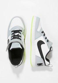 Nike Sportswear - COURT BOROUGH - Sneaker low - white/black/wolf grey/anthracite/volt - 0