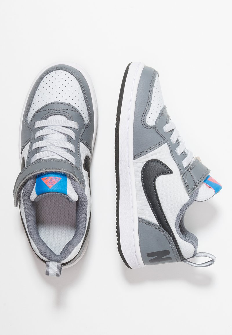 Nike Sportswear - COURT BOROUGH - Baskets basses - cool grey/anthracite/pure platinum/photo blue