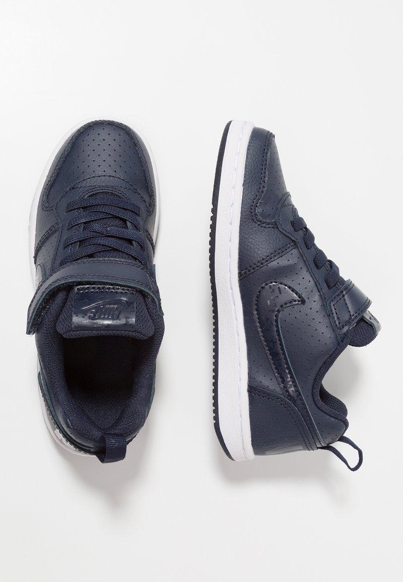 Nike Sportswear - COURT BOROUGH - Sneakers - obsidian/white