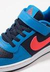 Nike Sportswear - COURT BOROUGH - Baskets basses - obsidian/bright crimson/photo blue/white
