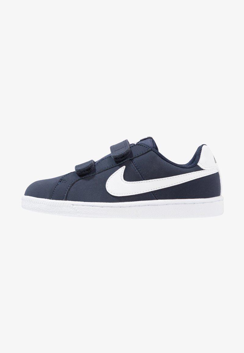 Nike Sportswear - COURT ROYALE (PSV) - Sneaker low - obsidian/white