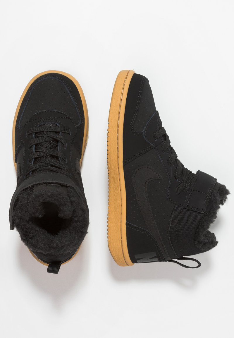 Nike Sportswear - Sneakers hoog - black/light brown