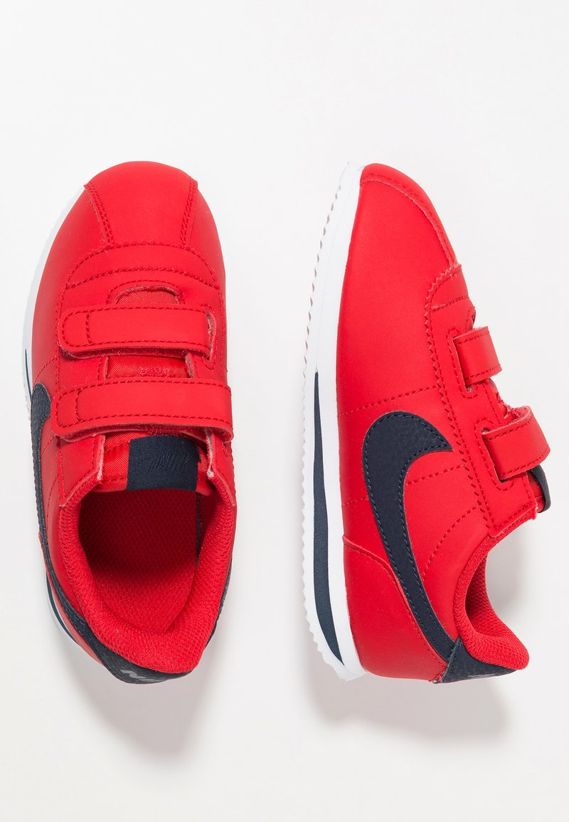 Nike Sportswear - CORTEZ BASIC  - Sneakersy niskie - university red/obsidian/white