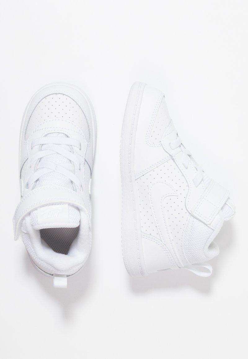 Nike Sportswear - COURT BOROUGH MID (TDV) - Sneakers alte - white