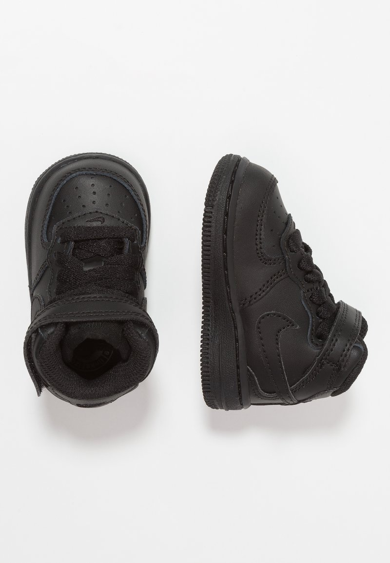 Nike Sportswear - NIKE FORCE 1 MID (TD) - Sneakers high - black
