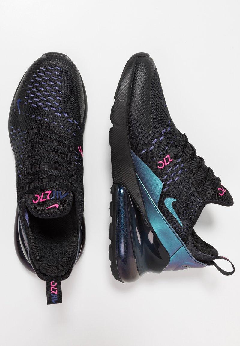 Nike Sportswear - AIR MAX 270 - Sneakers laag - black/laser fuchsia/regency purple/anthracite