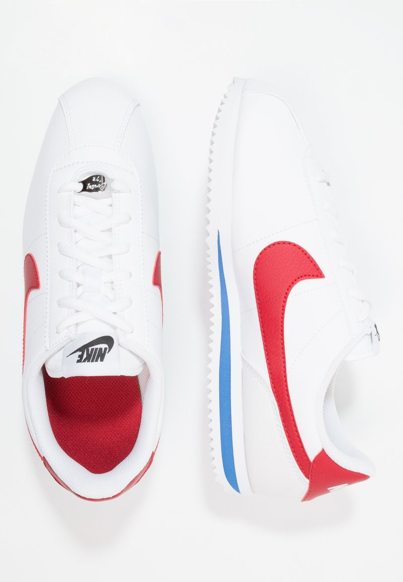 Nike Sportswear - CORTEZ BASIC  - Baskets basses - white / varsity red
