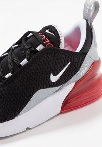 Nike Sportswear - AIR MAX 270  - Matalavartiset tennarit - black/white/ember glow/wolf grey - 2
