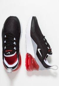 Nike Sportswear - AIR MAX 270  - Matalavartiset tennarit - black/white/ember glow/wolf grey - 0