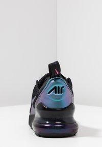 Nike Sportswear - AIR MAX 270  - Matalavartiset tennarit - black/laser fuchsia/regency purple/anthracite - 4