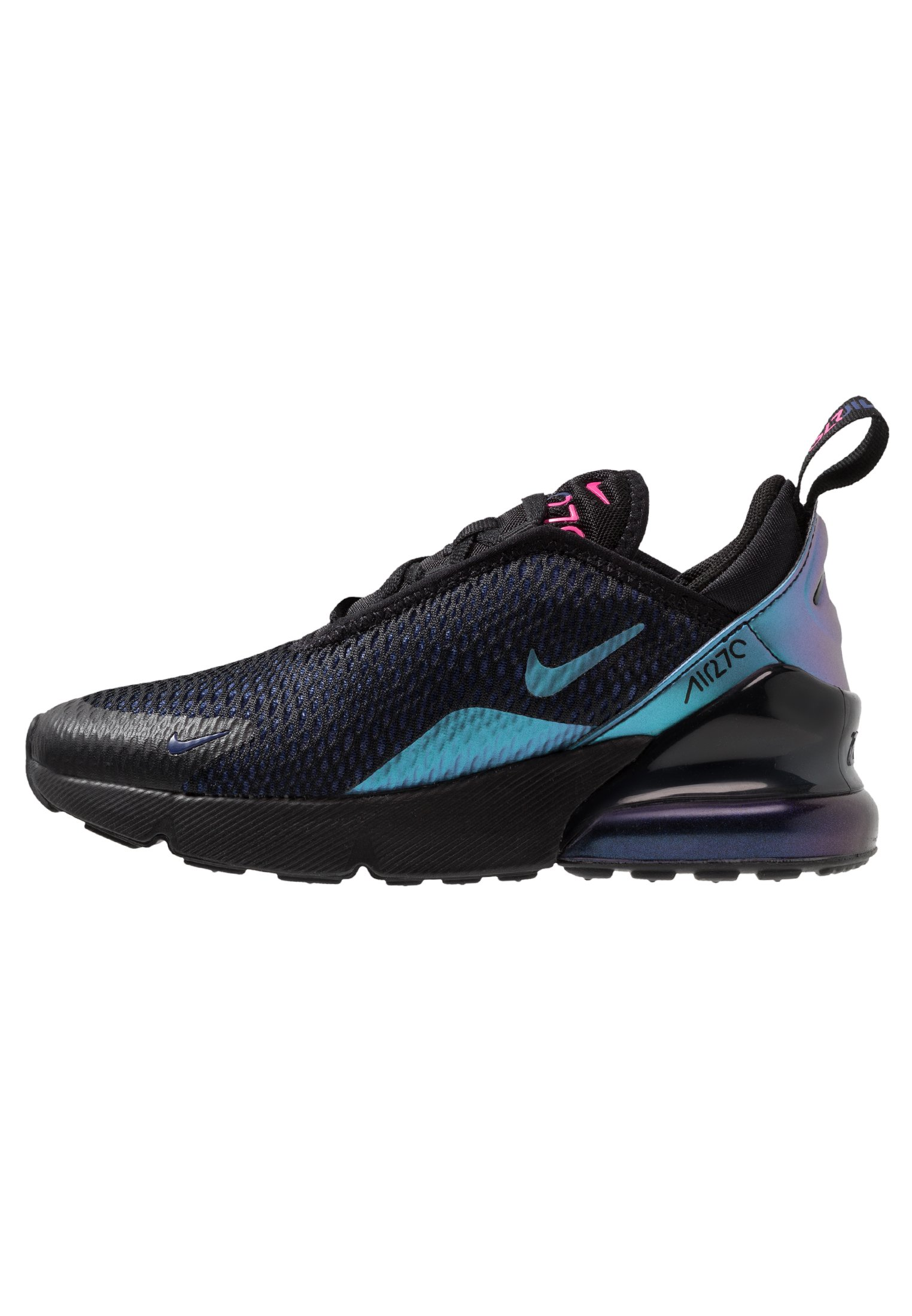AIR MAX 270 Sneakers basse blacklaser fuchsiaregency purpleanthracite