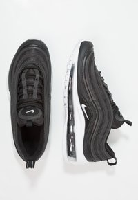 Nike Sportswear - AIR MAX 97 - Sneakersy niskie - black/white - 0