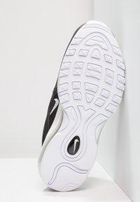 Nike Sportswear - AIR MAX 97 - Sneakersy niskie - black/white - 5