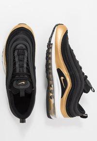 Nike Sportswear - AIR MAX 97 - Sneakers basse - black/metallic gold - 0