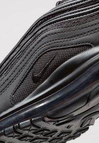 Nike Sportswear - AIR MAX 97 - Sneakers basse - black - 5