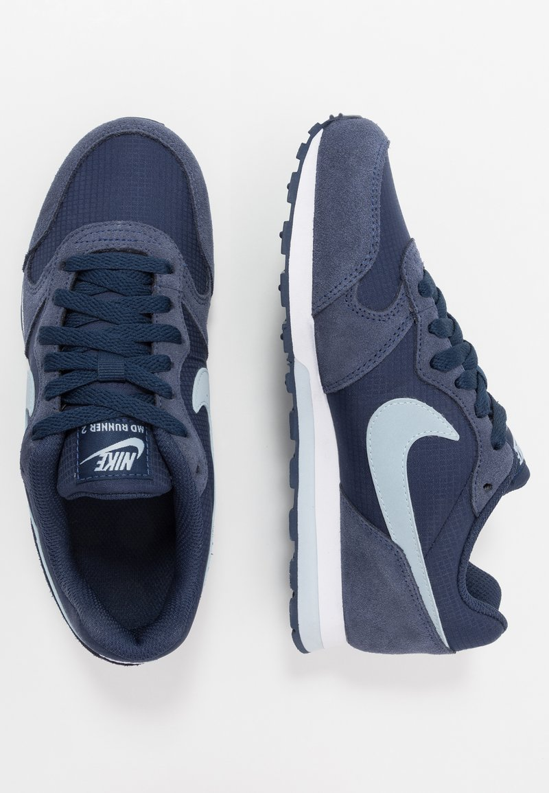 Nike Sportswear - MD RUNNER 2 PE  - Trainers - midnight navy/light armory blue