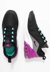 Nike Sportswear - AIR MAX MOTION 2 - Sneakers - black/hyper violet/gunsmoke/aurora green/white - 0