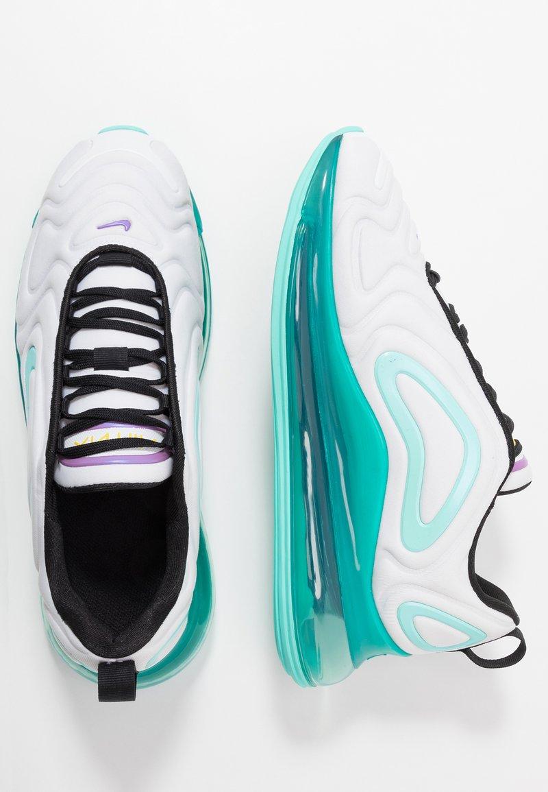 Nike Sportswear - AIR MAX 720 - Sneakers basse - white/black/aurora green/bright violet