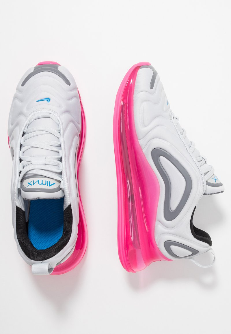 Nike Sportswear - AIR MAX 720 - Joggesko - pure platinum/photo blue/pink blast/gunsmoke