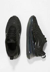Nike Sportswear - AIR MAX 720 - Sneakers basse - black - 1