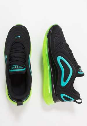 AIR MAX 720 - Baskets basses - black/oracle aqua/electric green