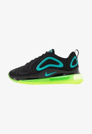 AIR MAX 720 - Sneakers laag - black/oracle aqua/electric green