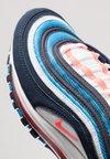 Nike Sportswear - GEL AIR MAX 97 - Sneaker low - white/bright crimson/obsidian/photo blue