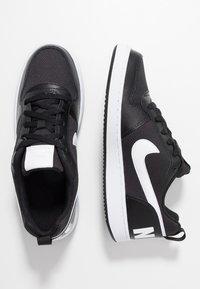 Nike Sportswear - COURT BOROUGH - Sneaker low - black/white - 0