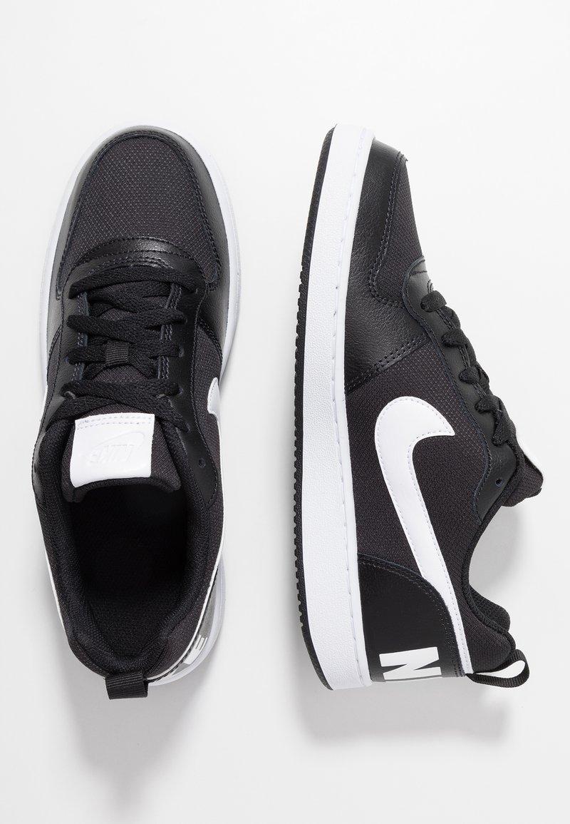 Nike Sportswear - COURT BOROUGH - Sneaker low - black/white