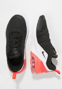 Nike Sportswear - AIR MAX MOTION 2 - Loafers - black/red orbit/white - 0