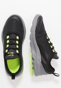 Nike Sportswear - AIR MAX MOTION 2 - Scarpe senza lacci - black/volt/gunsmoke - 0