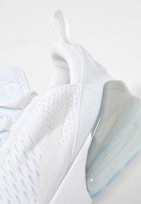 Nike Sportswear - AIR MAX 270 - Trainers - white/silver - 5