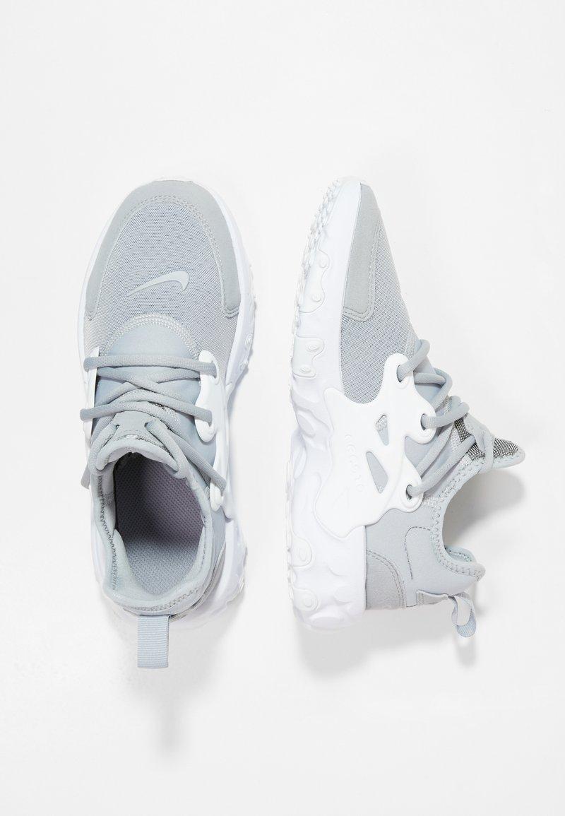 Nike Sportswear - REACT PRESTO - Sneakers - wolf grey/white