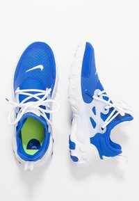 Nike Sportswear - REACT PRESTO - Baskets basses - hyper royal/white/black/volt - 0