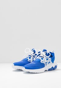 Nike Sportswear - REACT PRESTO - Baskets basses - hyper royal/white/black/volt - 3