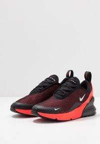 Nike Sportswear - AIR MAX 270 - Tenisky - black/reflect silver/bright crimson - 3