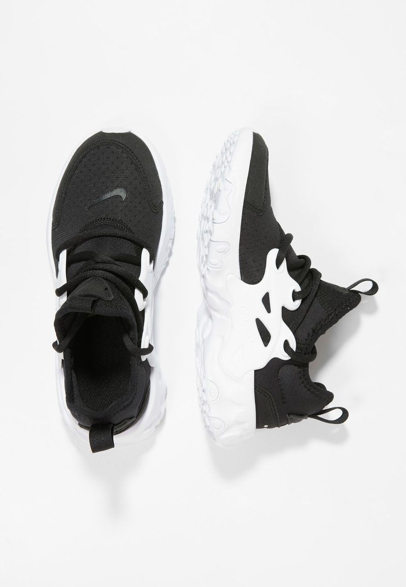 Nike Sportswear - REACT PRESTO - Sneaker low - black/white