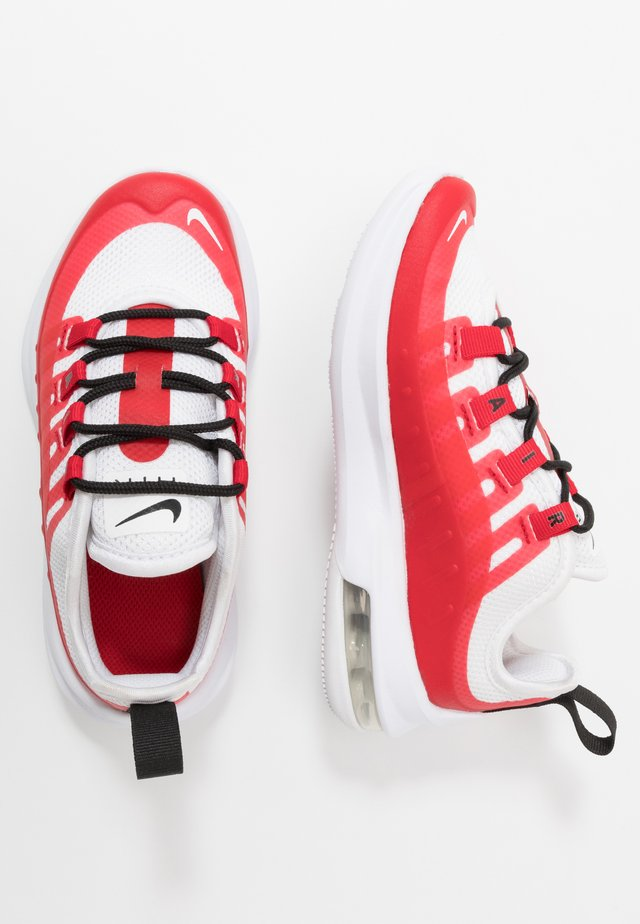 AIR MAX AXIS - Sneakers basse - university red/white/black