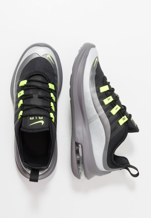 AIR MAX AXIS - Sneakers basse - black/volt/gunsmoke