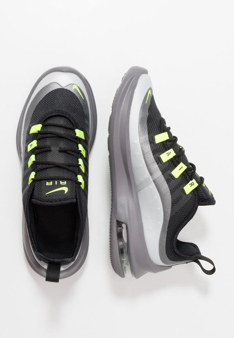 Nike Sportswear - AIR MAX AXIS - Sneakers basse - black/volt/gunsmoke