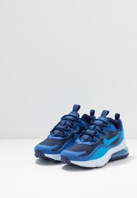 Nike Sportswear - AIR MAX 270 REACT - Sneakers - blue void/blue stardust/coast/topaz mist/photo blue - 3