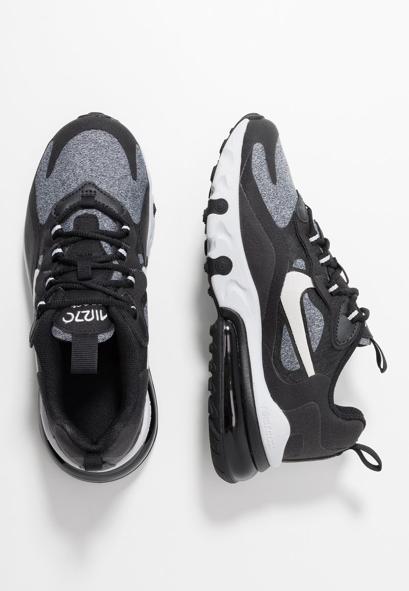 Nike Sportswear - AIR MAX 270 REACT - Tenisky - black/vast grey/off noir/white