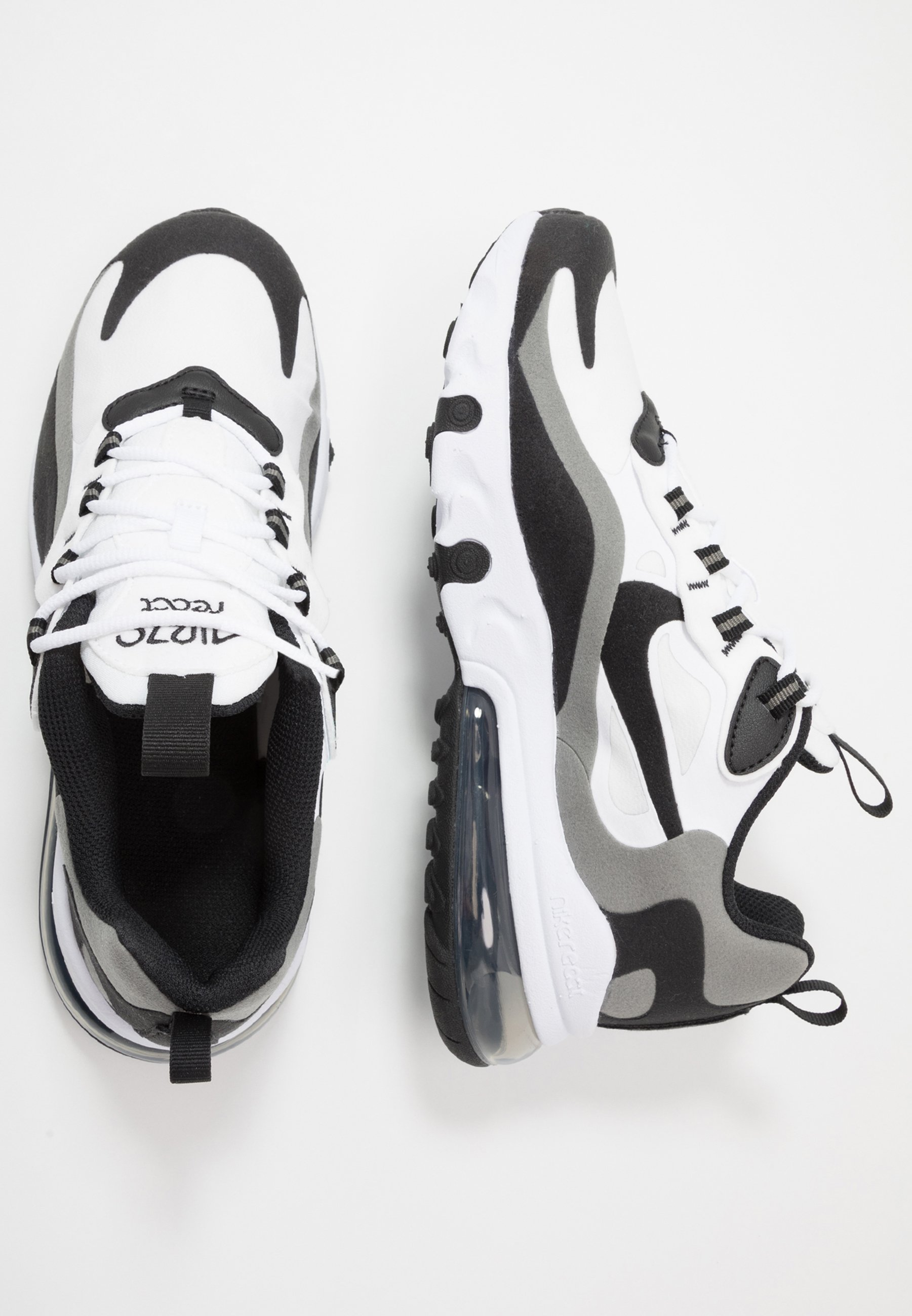 AIR MAX 270 REACT Matalavartiset tennarit whiteblackmetallic pewter