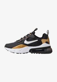 Nike Sportswear - AIR MAX 270 REACT - Sneakers laag - anthracite/white/black/metallic gold - 1