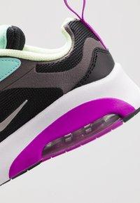 Nike Sportswear - AIR MAX 200 - Baskets basses - black/metalic silver/thunder grey/aurora green/hyper violet/barely volt - 2