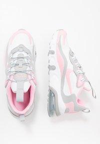 Nike Sportswear - NIKE AIR MAX 270 RT BP - Trainers - white/pink/light smoke grey/metallic silver - 0