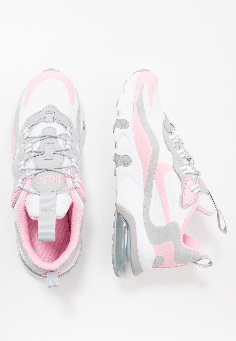 Nike Sportswear - NIKE AIR MAX 270 RT BP - Trainers - white/pink/light smoke grey/metallic silver